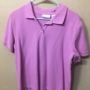 Croft & Barrow Pink Polo Shirt
